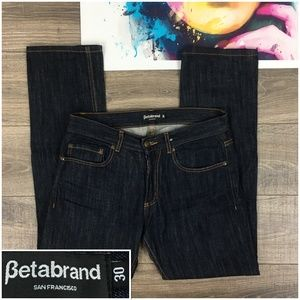 Betabrand San Francisco Mens Jeans Straight 32x31